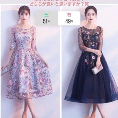 購入検討。。可愛すぎるドレスの記事に添付されている画像