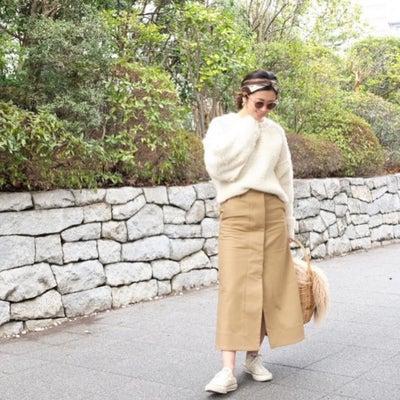 Today's Outfit♡ホワイト×ベージュ コーデの記事に添付されている画像