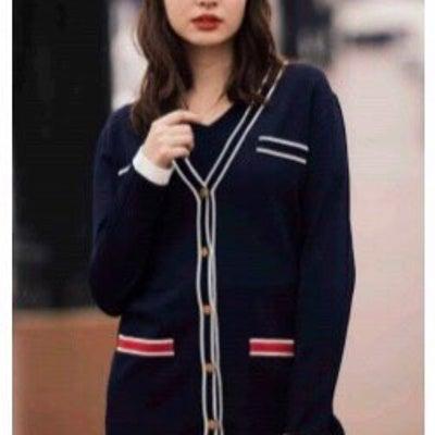 ♡ご好評につき配色カーデアンサンブル販売開始♡の記事に添付されている画像