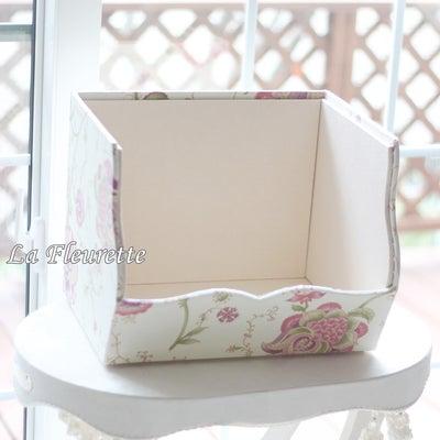 フランス生地でスタッキングボックスを♪の記事に添付されている画像