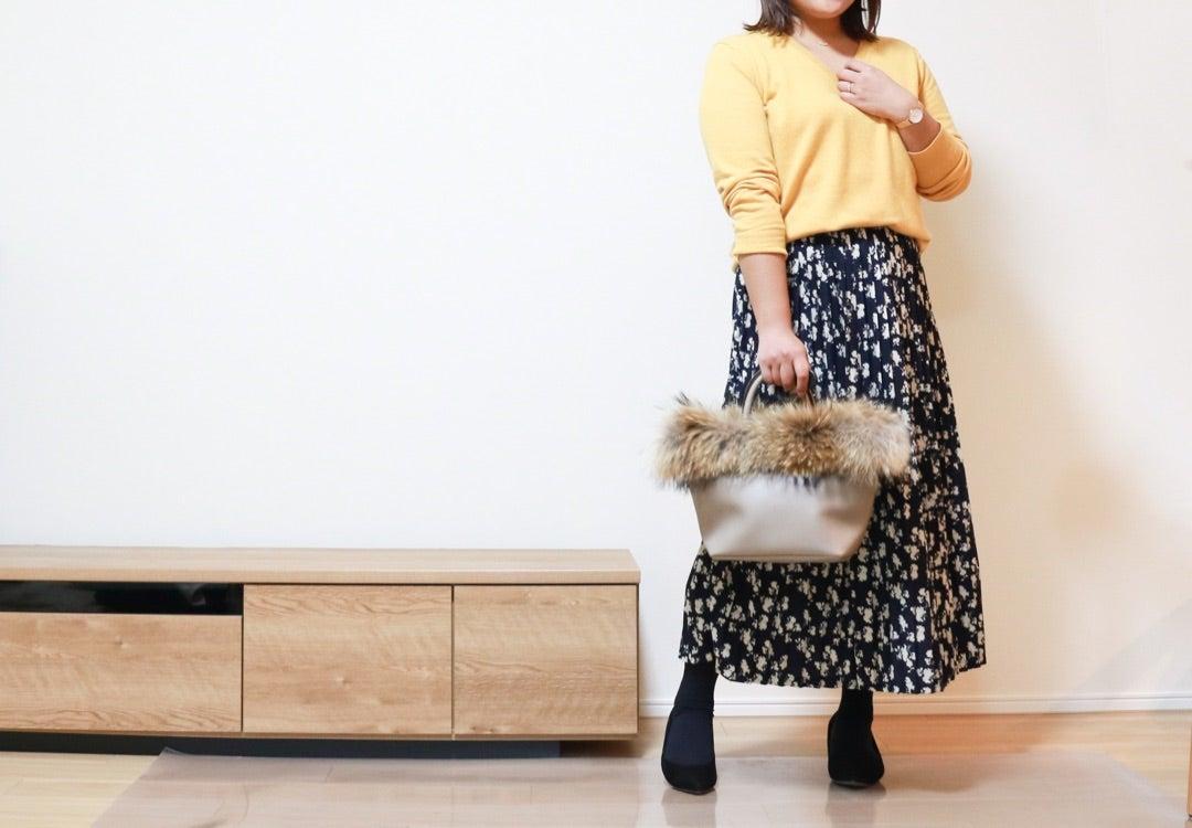 【【ブロガーイベント】ぽっこりお腹をせき止める!最強のスカートでコーデ♪】のご紹介です。