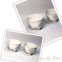 ポーセラーツ作品♡フリーカップの記事に添付されている画像