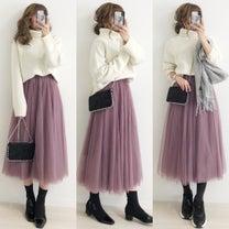 この冬大活躍なGUニット&褒められプチプラスカート♡の記事に添付されている画像