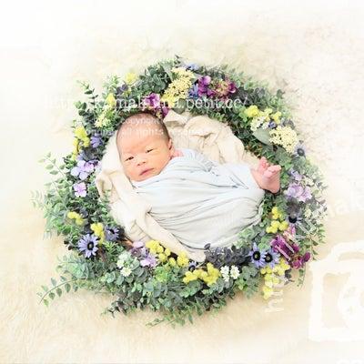 生後10日くん ニューボーンフォトの記事に添付されている画像