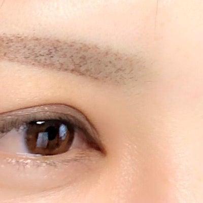 定期的な眉修正の記事に添付されている画像