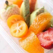 室町万弥「季節のフルーツ」の記事に添付されている画像
