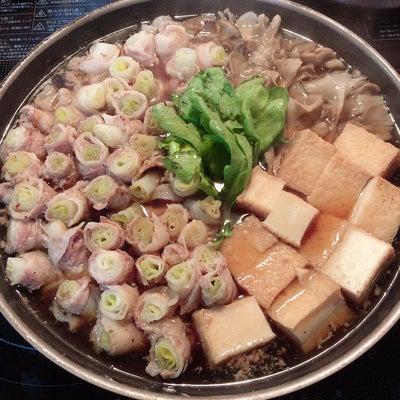 あきちゃんちのラララ♪お弁当♪豚バラの長ねぎ巻き鍋   編の記事に添付されている画像