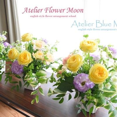 月のイベントレッスン♪ビタミンカラー薔薇カタリナのスクエアアレンジの記事に添付されている画像