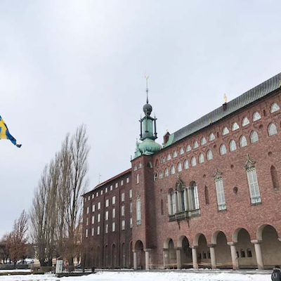 スウェーデン便り③ ストックホルム市庁舎見学ツアーの記事に添付されている画像
