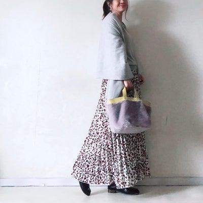 雪の日はmyuのロングスカートでのんびりコーデの記事に添付されている画像