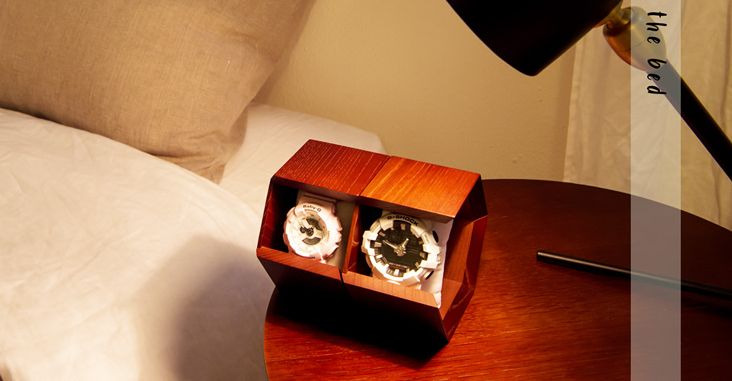 "detailed look 2e2af b2c87 腕時計をインテリアへ変貌させる"" おしゃれなウォッチケース ..."