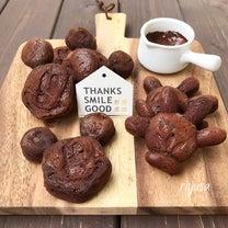 【焼くまで10分】ミッキーのチョコレーズンケーキの記事に添付されている画像