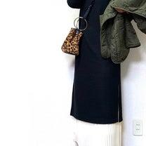 上下しまむら☺︎華奢見えワンピ➕高見えプリーツスカートコーデの記事に添付されている画像