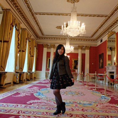 プリンセス気分でダブリン城の記事に添付されている画像