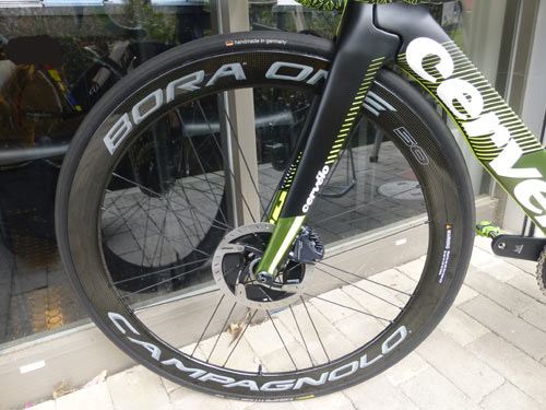 CERVELO 2019 ROADBIKE S5 DISC Delivered assembly BORA ONE DISC 50 サーベロ 2019年モデル ロードバイク エスファイブ ディスク 納車 カンパニョーロ ボーラワンディスク 50mm