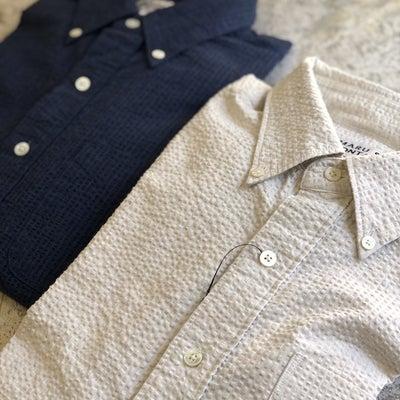 暖かくなると着たくなる SONTAKU ソンタク のコットンサッカーシャツの記事に添付されている画像