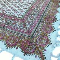 平成最後!イランの伝統工芸士さんの手染め更紗を!の記事に添付されている画像