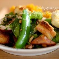 グルメのためのサラダをレストラン仕様での記事に添付されている画像