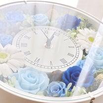 結婚式 贈呈品に人気 新着 プリザーブドフラワーの花時計の記事に添付されている画像