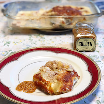 在庫一掃ご飯をゴールデンマスタードでランクアップの記事に添付されている画像