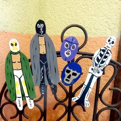 メキシコプロレスルチャリブレのマグネット[Pick Up]の記事に添付されている画像