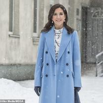 【デンマーク王室】メアリー王太子妃&マリー妃 水色が似合うの記事に添付されている画像