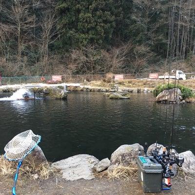 2019/02/11(月)浅川国際鱒釣場 AM寒いの記事に添付されている画像