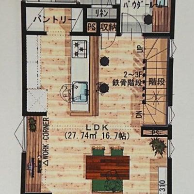 【マイホーム間取り】キッチン大変更依頼の記事に添付されている画像