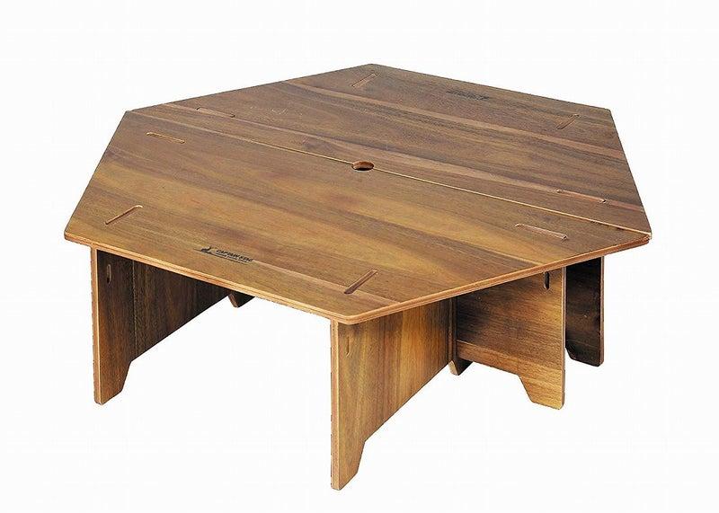 キャプテンスタッグ ヘキサセンターテーブル 96 CSクラシックス