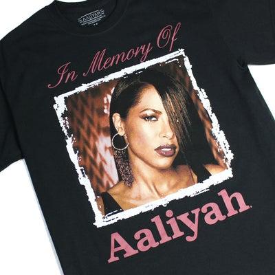 Aaliyah Official T-Shirt #MOXOFの記事に添付されている画像