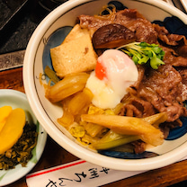すき焼き丼@中洲ちんや 2018.08の記事に添付されている画像