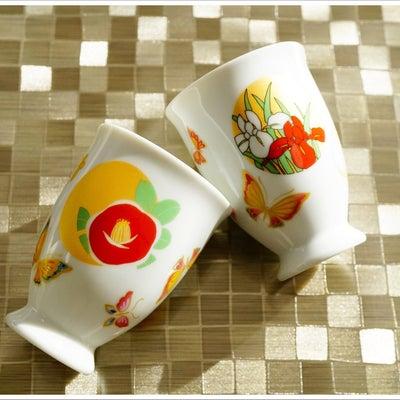 ☆素敵和柄のフリーカップ☆の記事に添付されている画像