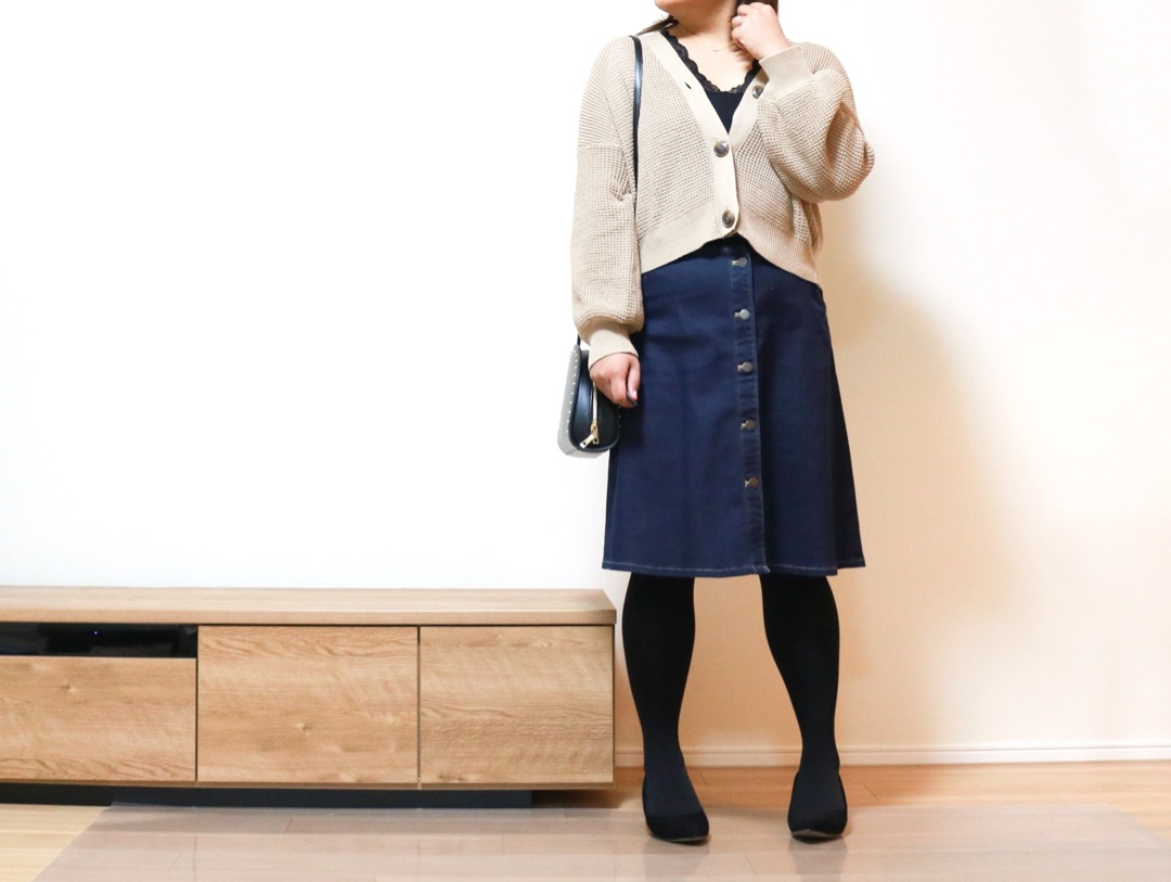 【【ユニクロ】もう値下げ?!びっくり掘り出し物スカートでコーデ!】のご紹介です。