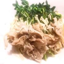 鯖の味噌煮と豆苗の記事に添付されている画像