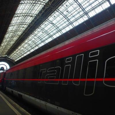 ブダペスト1日目①初めての国際電車!レイルジェットでウィーンからブダペストにの記事に添付されている画像