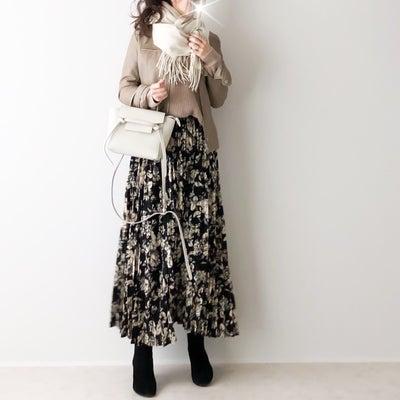 甘すぎない大人仕様の花柄スカートの記事に添付されている画像