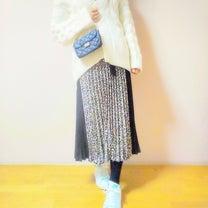 コーデ、しまむらレオパードスカートを工夫して♪の記事に添付されている画像