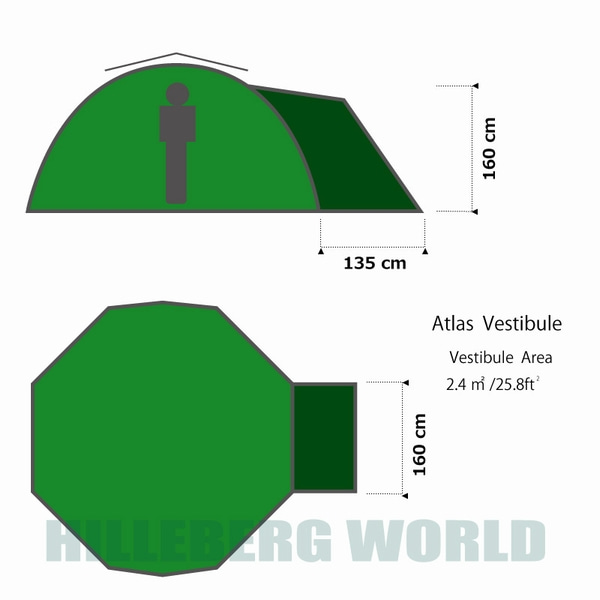 アトラス グリーン ベスタビュール(前室) / ATLAS Green Vestibule