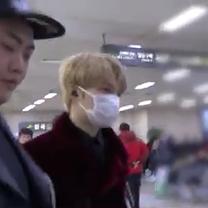 ジェジュン★動画・2/11 日本⇒韓国~金浦空港の記事に添付されている画像