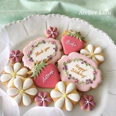 春なクッキー♡シンプルな技法だけでもの記事に添付されている画像