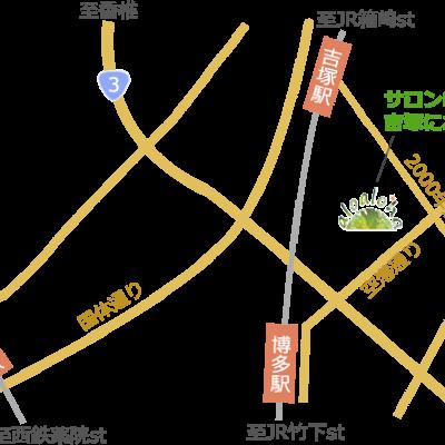 博多駅からバスでのアクセスの記事に添付されている画像