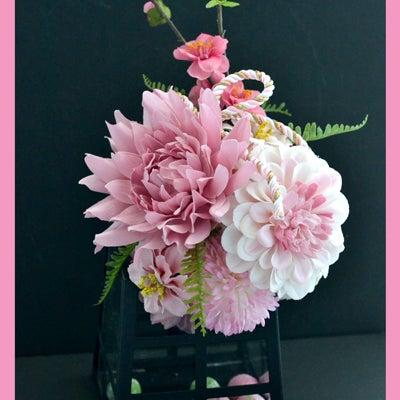 【募集】ピンクのお花で春を楽しむ One day Lessonの記事に添付されている画像