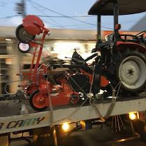 トラクター納品へ GO!の記事に添付されている画像