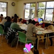 東加古川子育てプラザで手形足形アートイベント‼の記事に添付されている画像