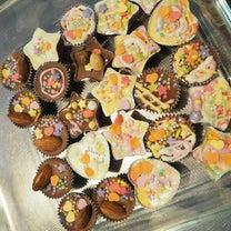 毎年恒例、簡単チョコ作りの記事に添付されている画像