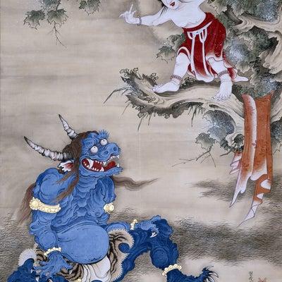 奇想の系譜展 江戸絵画ミラクルワールドの記事に添付されている画像