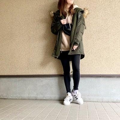 買えてよかったGU大人気パーカーでスポーツMIXスタイル♡の記事に添付されている画像