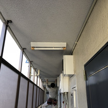 共用部の照明の交換と…