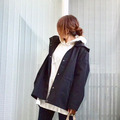 UniqloU♡完売間近!大人気ブロックテックジャケットの画像