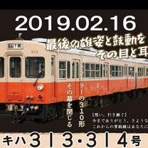 ツートンカラーの310形 その幕を閉じる(さよなら関東鉄道キハ313+314号)の記事に添付されている画像